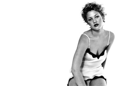 Drew Barrymore retro