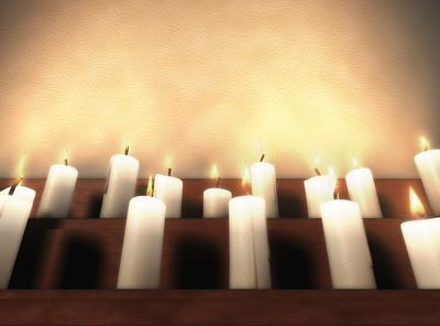 Flickering Candle Lights