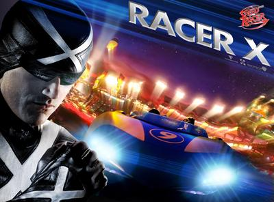 Speed Racer, 2008, Matthew Fox as RacerX