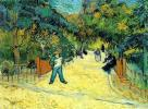 Entrance to the Public Garden in Arles, 1888, Vincent Van Gogh