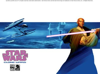 Clone Wars (Comics) - Mace Windu